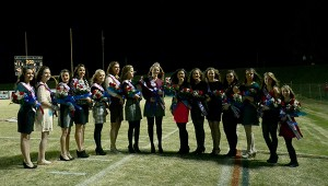 Members of the 2014 Homecoming Court at PIke Liberal Arts School were recognized during the half-time activities at the final home game on Oct. 31. Madison Gilmore was crowned queen. MESSENGER PHOTO/SCOTTIE BROWN