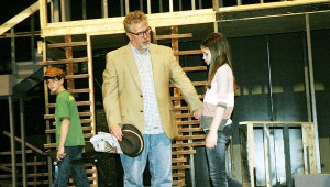 """Troy University's Department of Theater and Dance will present, """"To Kill a Mockingbird"""" at 7:30 p.m. April 15, 16, 17 and 18 and at 2:30 p.m. April 19 at the Trojan Center Theater. Tickets are  $10 and $5 for students. Tickets may be purchased at the Trojan Center Box Office at the Trojan Center. Pictured: Dalton Causey, Ariton Middle School, plays Jem, and Tate Gardner, Pike Liberal Arts School, is Scout. Danny Gilroy of Enterprise is Atticus."""