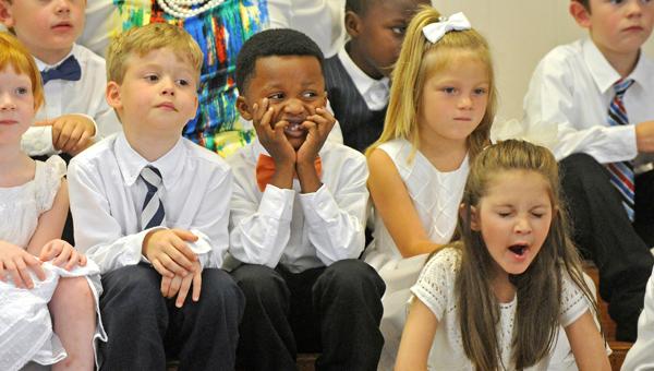 Banks Primary School kindergarten graduation.