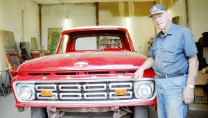 Snodgrass is in the process of restoring a Ford truck for Kenneth Wilson. After that, he's turning all of his restoration efforts toward lawn tractors.
