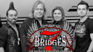 7 Bridges, an Eagles tribute band, will be in concert at the Claudia Crosby Theater at 7 p.m. Monday. The concert is the Troy Arts Council's kickoff event for the 2015-2016 concert season. It's also Teacher Appreciation Night and all public school employees will be admitted free with an ID. Tickets are $20 and $5 for students with an ID.