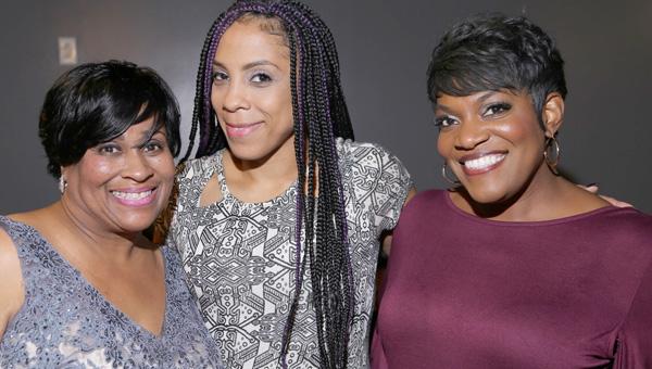 Shelia Jackson with Keasha Brown and Tonya Terry.
