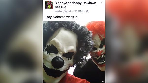 Clowns Identified