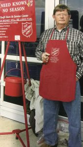 The 2016 Pike County Salvation Army Red Kettle Campaign is being dedicated to the memory of Kenny May, a long time dedicated volunteer to the local Salvation Army.