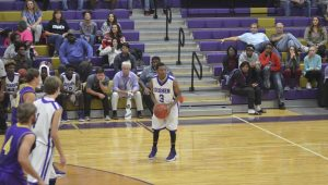 Messenger Photo/Mike Hensley The Goshen Eagles defeated the Ariton Purple Cats 66-53 on Monday night in Goshen.