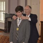 submitted Photo Charles Henderson High School sophomore Brock Huner was named the Alabama Sports Foundation Athlete of the year. On Wednesday Huner made the trip to Montgomery to meet Govenor Robert Bentley
