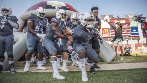 Photo/jonah enfinger The Troy Trojans began preparations for next Friday's bowl game with Ohio on Wednesday afternoon. The Trojans and the Bobcats will kick off the Dollar General Bowl at 7 p.m. from Ladd Peebles Stadium.