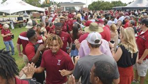 Photo/Thomas Graning Fans that will be attending the Troy football game at the Dollar General Bowl on Friday will have a chance to partake in special activities such as a parade and pep rally if they make the trip on Thursday.