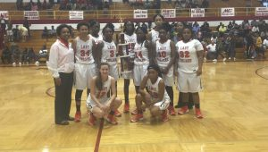 submitted Photo The Charles Henderson Lady Trojans defeated Eufaula on Saturday afternoon to win their thrid straight Northview Christmas Tournament championship.