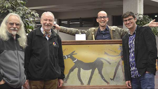 People from right here in Pike County and from around the world came to hear Michael Reno Harrell, Donald Davis, Adam Booth and Josh Goforth sing and tell stories at the 11th annual Pike Piddlers Storytelling Festival on Saturday.