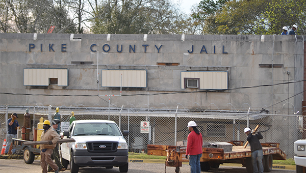 While the existing and outdated Pike County Jail is undergoing renovations to stabilize the structure, county ofificials are in the early steps of  a feasibility study to explore the possibility of constructing a new jail facility. Officials are expected to discuss the project at the next county commission meeting.
