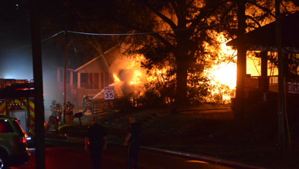 Troy firefighters worked tirelessly to battle the blaze on Saturday night, but were unable to save the life of former Troy councilman Jose Henderson. Henderson served 12 years on the council and also served as the director of Headstart for OCAP.