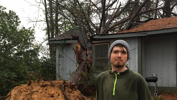 Richard Taylor Adams was a victim of Saturday's severe weather as strong winds caused a tree to fall on his house.