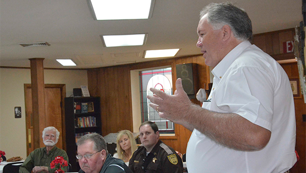 Human trafficking is the third largest international crime industry behind illegal drugs and arms trafficking. Pike County Sheriff Russell Thomas was invited to speak to the United Methodist Women Circles of Brundidge United Methodist Church Monday. Thomas said, although his department has not made a case on human trafficking, it's probably closer to home than anyone would want to think.