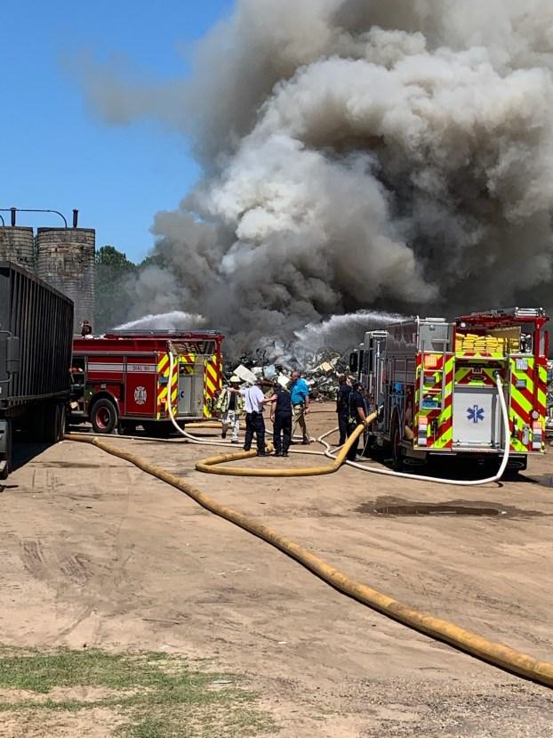 Brantley Scrapyard fire